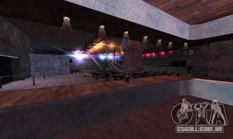Retexture Jizzy, Alhambra, Pig Pen para GTA San Andreas quinto tela