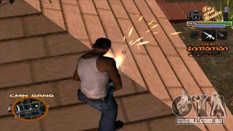 C-HUD TV-Centro para GTA San Andreas terceira tela