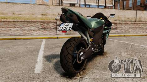 Yamaha R1 RN12 [Update] para GTA 4 vista direita