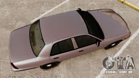 Ford Crown Victoria 2008 LCPD Detective [ELS] para GTA 4 vista direita