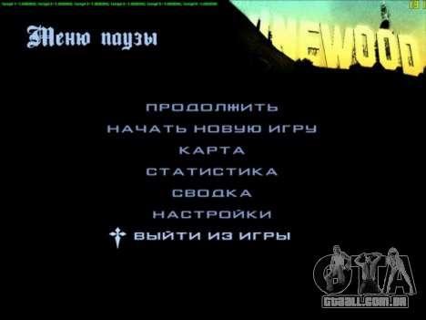 FPS Optimizator para GTA San Andreas segunda tela