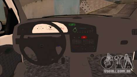 Fiat Palio BKModifiye para GTA San Andreas vista direita