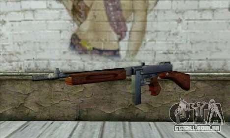 Thompson M1 para GTA San Andreas