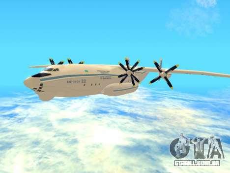 An-22 Antei para GTA San Andreas