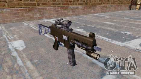 A metralhadora UMP45 para GTA 4