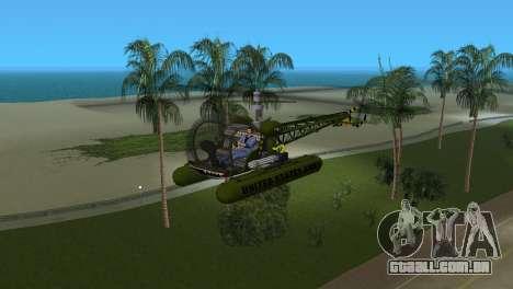 Bell 13H Sioux para GTA Vice City deixou vista