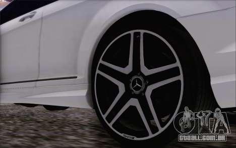 Mercedes-Benz CL65 AMG para GTA San Andreas vista direita