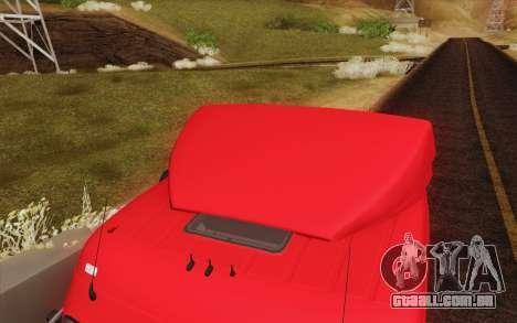 Mercedes-Benz Actros para o motor de GTA San Andreas