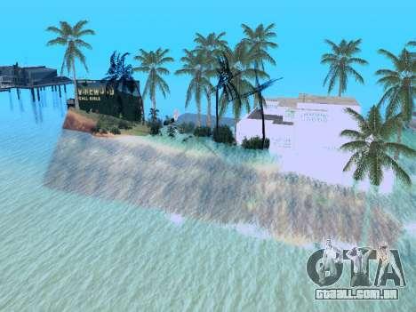 Nova ilha v1.0 para GTA San Andreas oitavo tela