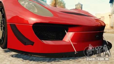 Porsche 918 Spider Body Kit Final para GTA 4 vista lateral