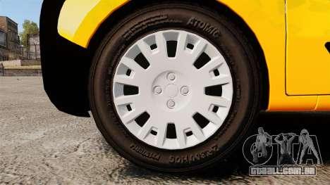 Peugeot Bipper LP EXPRESS [ELS] para GTA 4 vista de volta