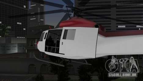 Bell HH-1D para GTA Vice City vista direita