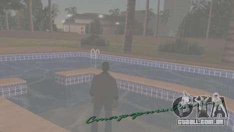 Lidar para GTA Vice City sexta tela
