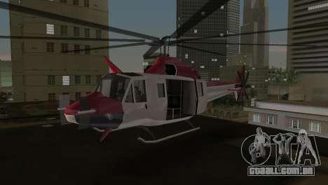 Bell HH-1D para GTA Vice City deixou vista