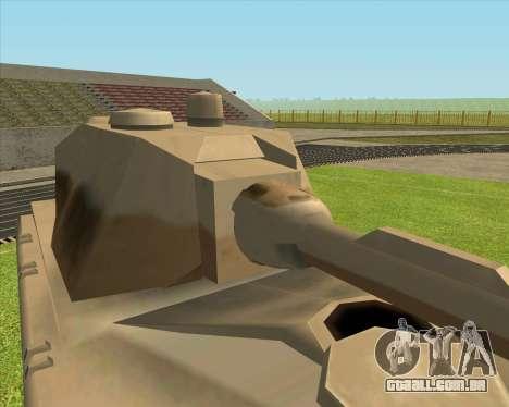 Rhino tp.Mouse para GTA San Andreas esquerda vista