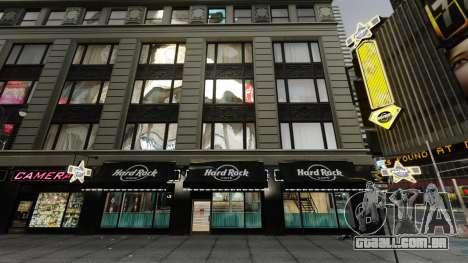 O Hard Rock cafe, em times square para GTA 4 segundo screenshot