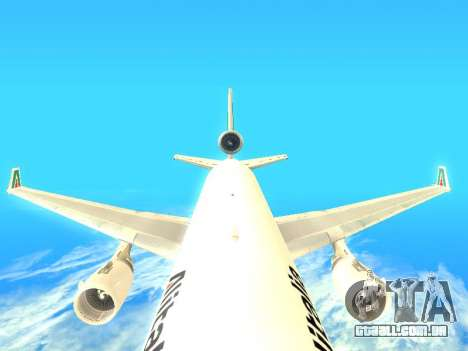 McDonnell Douglas MD-11 Alitalia para vista lateral GTA San Andreas