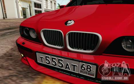BMW M5 E39 2003 para GTA San Andreas vista interior