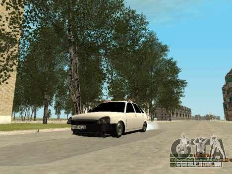 VAZ 2172 para GTA San Andreas esquerda vista