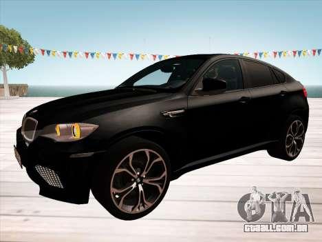BMW X6M 2010 para o motor de GTA San Andreas