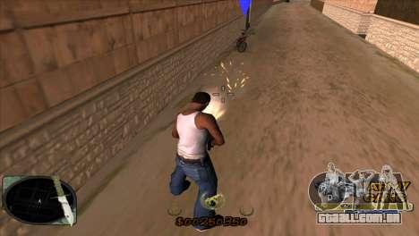 C-HUD Army Gang para GTA San Andreas terceira tela