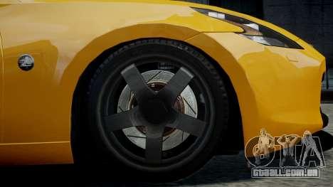 Nissan 370Z 2009 para GTA 4 vista direita
