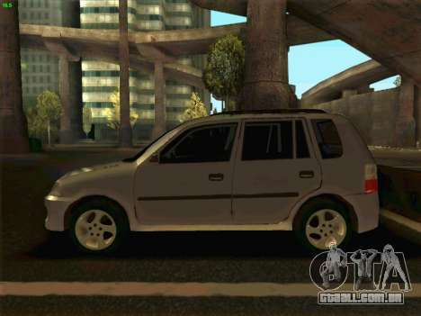 Mazda Demio 1998 para GTA San Andreas esquerda vista