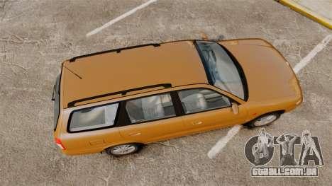 Daewoo Nubira I Wagon CDX PL 1998 para GTA 4 vista direita