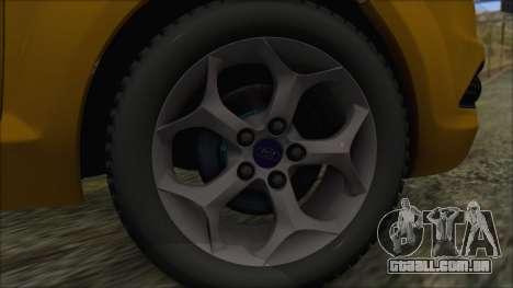 Ford Focus 2008 Station Wagon-Stock para GTA San Andreas traseira esquerda vista