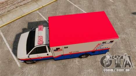Brute MRSA Paramedic para GTA 4 vista direita