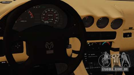 Dodge Stealth Turbo RT 1996 para GTA 4 interior
