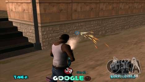 C-HUD Google para GTA San Andreas terceira tela