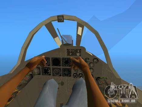 FMA IA-58 Pucara para GTA San Andreas vista traseira