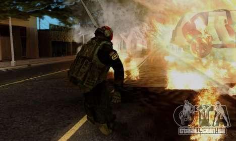 Kopassus Skin 1 para GTA San Andreas sétima tela