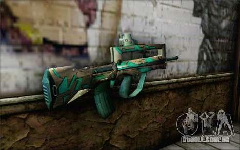 Famas G2 Commando Blaze para GTA San Andreas segunda tela
