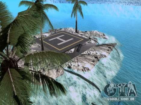Nova ilha v1.0 para GTA San Andreas sétima tela