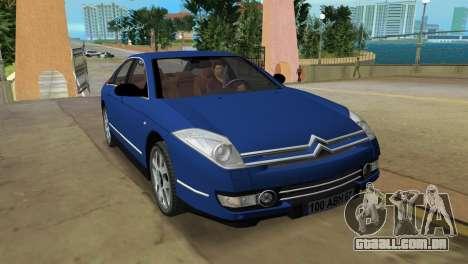 Citroen C6 para GTA Vice City