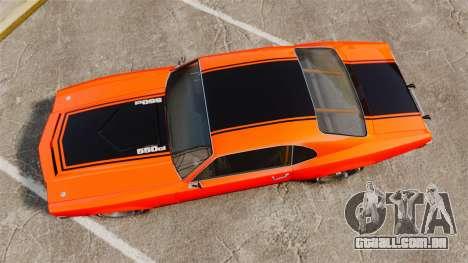 Declasse SabreGT new wheels para GTA 4 vista direita