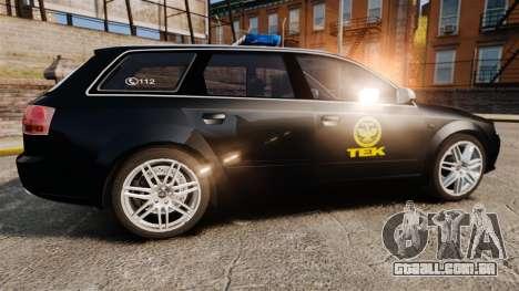 Audi S4 Avant TEK [ELS] para GTA 4 esquerda vista