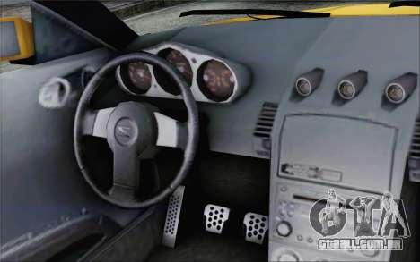 Nissan 350Z para GTA San Andreas vista direita