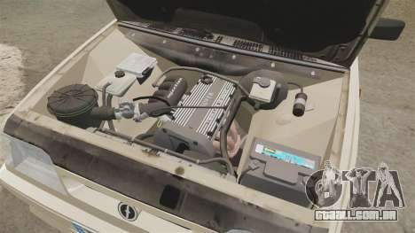 FSO Polonez Caro 1.4 GLI 16V para GTA 4 vista de volta
