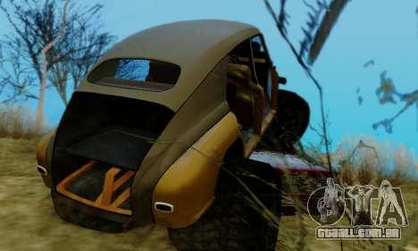 GÁS M20 Monstro para vista lateral GTA San Andreas