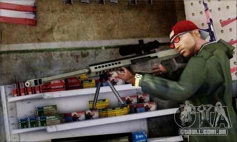 Alfa Team Weapon Pack para GTA San Andreas nono tela
