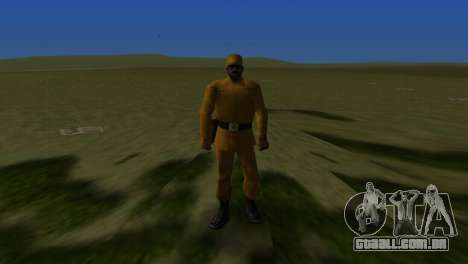 Soldados afegãos para GTA Vice City por diante tela