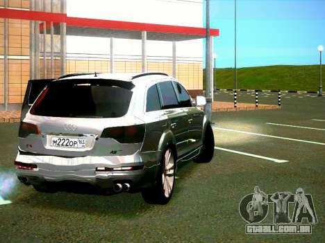 Audi Q7 para GTA San Andreas vista direita