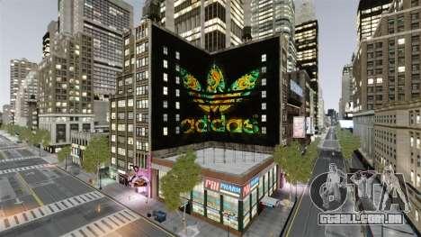 Grande publicidade da Adidas Originais para GTA 4