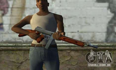 Thompson M1 para GTA San Andreas terceira tela