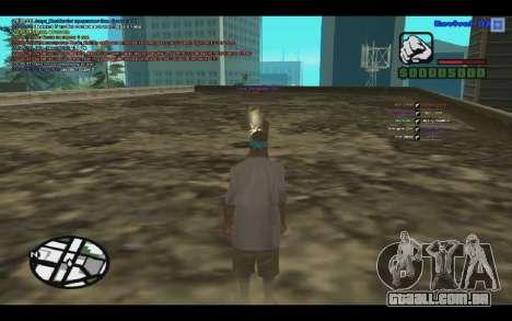 GM bala para SAMP 0.3z para GTA San Andreas segunda tela