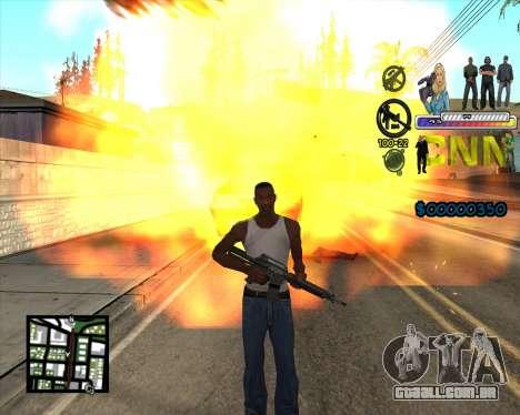 C-HUD CNN para GTA San Andreas terceira tela