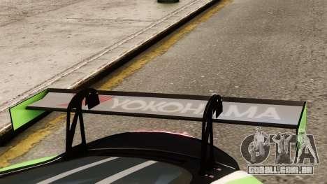 Jaguar XKR GT para GTA 4 vista de volta